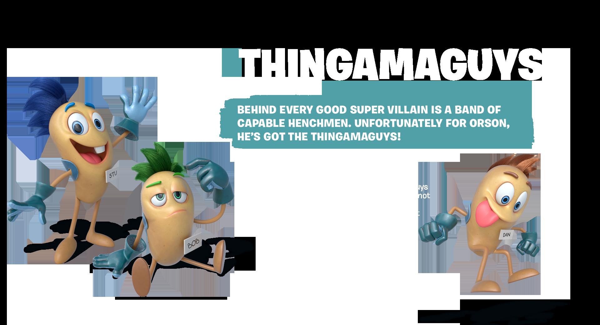 Tastebuds - Thingamaguys - Character