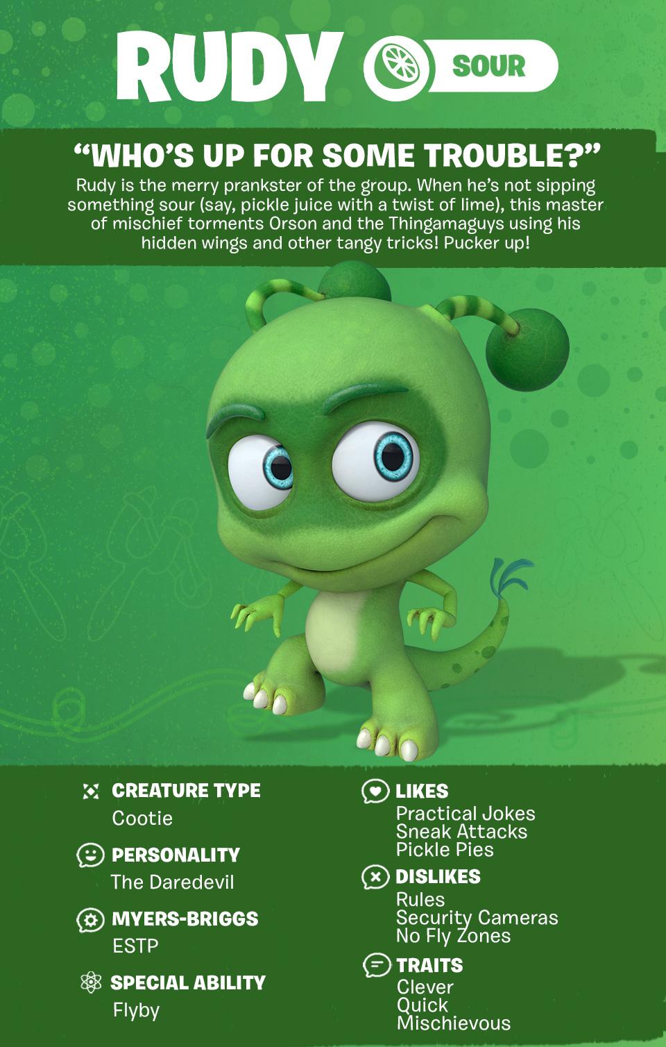 Tastebuds - Rudy - Character